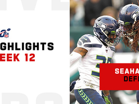 Seahawks' most impressive defensive plays | Week 12