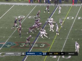 Jeff Heath jars ball from Phillip Dorsett with well-timed hit