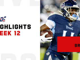 Every catch from A.J. Brown's 135-yard game | Week 12