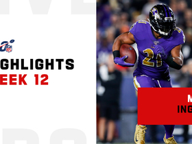 Highlights from Mark Ingram's big game | Week 12