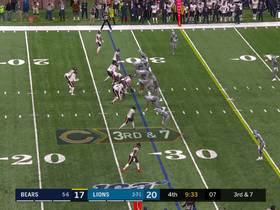 Trey Flowers plants Trubisky for huge loss on third-down sack