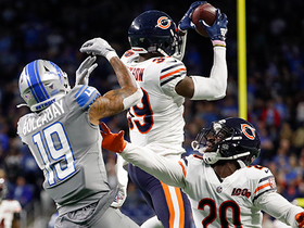 Eddie Jackson ICES Bears' win with airborne INT on fourth down