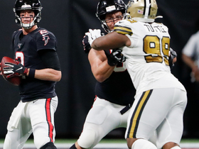 Matt Ryan can't find a receiver on failed fourth-and-goal attempt