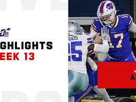 Best plays from Josh Allen vs. Cowboys | Week 13