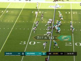 Eagles fans erupt as Birds get INT on first play of game