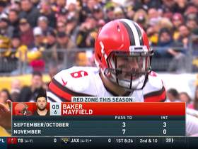 T.J. Watt envelops Baker Mayfield for big red-zone sack