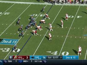 Montez Sweat and Jonathan Allen combine for third-down sack