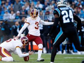 Dustin Hopkins hits 36-yard FG to give Redskins the lead