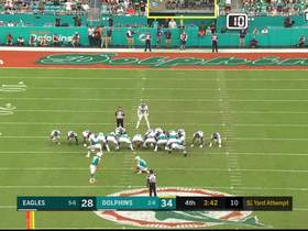 Fins go up two scores as Jason Sanders boots 51-yard field goal