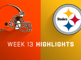 Browns vs. Steelers highlights | Week 13