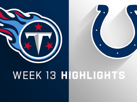 Titans vs. Colts highlights | Week 13