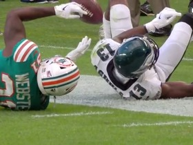 Eagles challenge pays off as Agholor awarded 24-yard reception