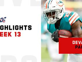 Every DeVante Parker catch from 2-TD game | Week 13
