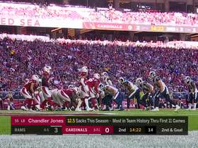 Rams' play action opens up Tyler Higbee for TD