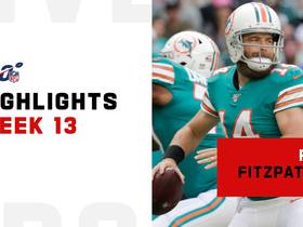Ryan Fitzpatrick's best throws from 365-yard game | Week 13