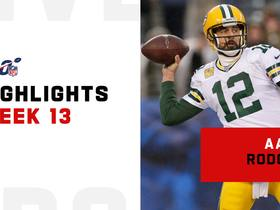 Best throws from Aaron Rodgers' 4-TD game | Week 13