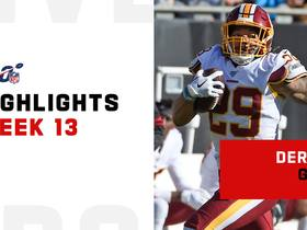 Derrius Guice's best runs from 129-yard day | Week 13