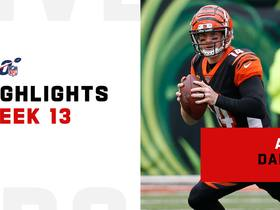 Andy Dalton's best passes from 243-yard return | Week 13