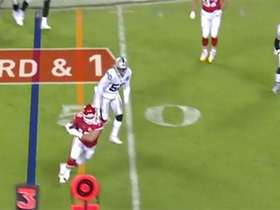Chiefs run 'Spider 2 Y Banana' against Jon Gruden's Raiders on third down