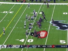 DeAndre Hopkins beats Stephon Gilmore inside for big gain
