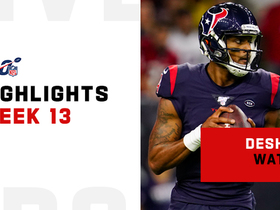 Deshaun Watson's best plays in prime time | Week 13