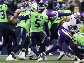 Jason Myers drills late 36-yard FG to extend Seahawks' lead to seven