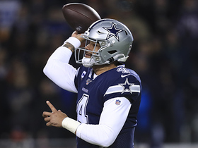 Prescott scans field to find Jarwin for early third-and-long pickup