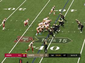 Jimmy G dissects airtight coverage on 31-yard dart to Emmanuel Sanders