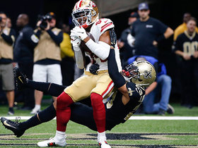 Kendrick Bourne beats Marshon Lattimore for tightly contested TD grab