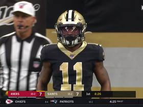 Deonte Harris zooms through 49ers for 51-yard kick return