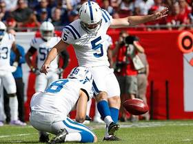Chase McLaughlin's first Colts FG is good from 50 yards