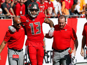 Mike Evans sustains injury on 61-yard deep TD