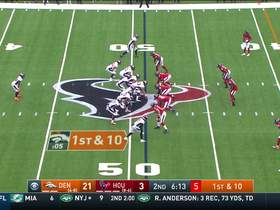 Denver's nifty play design leads to Fant's 28-yard catch and run