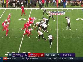 Ravens breakout Heisman formation against Bills' D