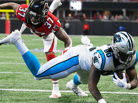 Panthers' rub routes open up Ian Thomas for TD