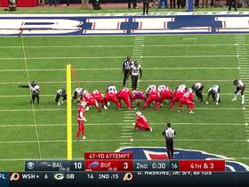 Stephen Hauschka nails 47-yard field goal