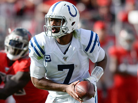 Can't-Miss Play: Brissett goes WAY downtown for 50-yard deep ball