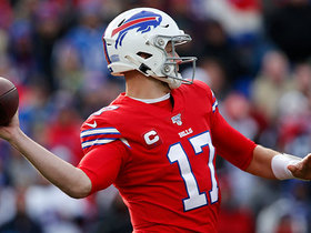 Josh Allen fires dart to Beasley in the flat for two-point conversion