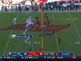Bucs' D delivers clutch stop on Colts' fourth-down try