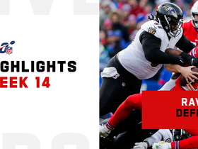 Every Ravens sack against the Bills | Week 14