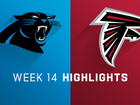 Panthers vs. Falcons highlights | Week 14