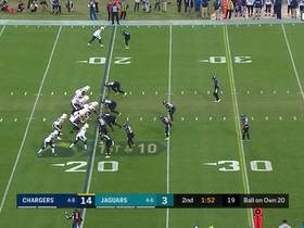 Austin Ekeler looks like a bowling ball on 35-yard rumble