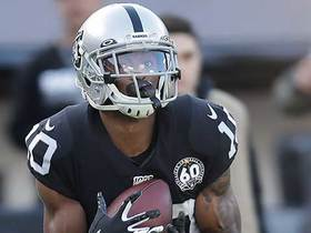 New WR alert! Rico Gafford's first career catch is 49-yard TD from Carr