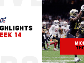 Every one of Michael Thomas' 11 catches vs. 49ers | Week 14