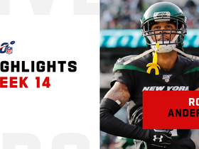 Every catch from Robby Anderson's 116-yard game | Week 14