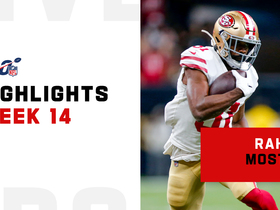 Every Raheem Mostert touch from 109-yard, 2 TD game | Week 14