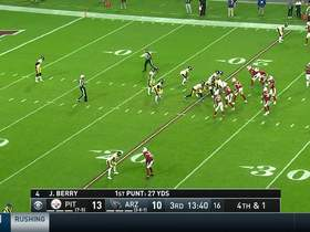 Pharoh Cooper returns MASSIVE punt back for 26 yards