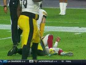 Steelers' third INT on the day puts game away