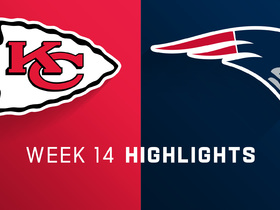 Chiefs vs. Patriots highlights | Week 14