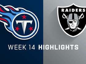 Titans vs. Raiders highlights | Week 14